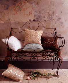 crochet and settee