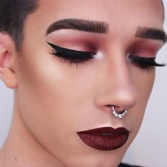 11 Best Guys Wearing Makeup Images
