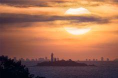 A Partial Solar Eclipse over Buenos Aires