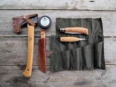 Bushcraft wood kit-need that canvas tool bag