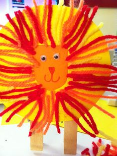 Lion Craft (can be used for a circus theme) Calvary Waterford Kids