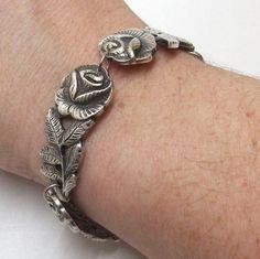 "Antikes Silberarmband ""Hildesheimer Rose""  AB152 von Atelier Regina auf DaWanda.com"