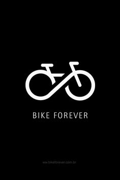 #graphic design #bike #forever - Happiness in those wheels, forever.