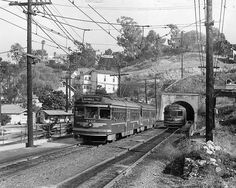 Los Angeles Red Car System | Last trips of the Pacific Electric cars making finals runs in June ...