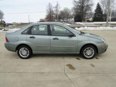2005 Ford Focus Green Exterior
