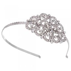 Ornate Crystal Statement Hairband