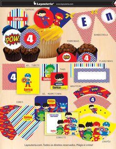 Super Heróis Festa PDF
