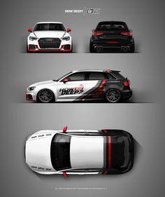 Car Stickers, Car Decals, Cool Car Drawings, Vehicle Signage, Racing Car Design, Car Painting, Modified Cars, Rally Car, Car Wrap
