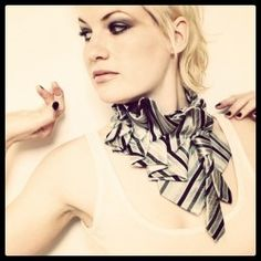 Lilian Asterfield by Nichole Deponte: upcycled neckties made into beautiful wearable art!