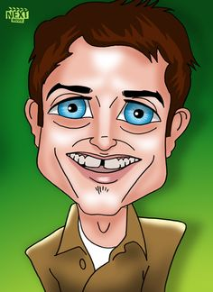 Cartoon Elijah Wood