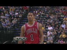 4c7133bff17b  DRose Full Highlights NBA Preseason 2013.10.05 at Pacers - 13 Pts
