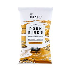 Epic Pork Rinds Texas BBQ are a wholesome snack full of protein and made from non-GMO, antibiotic-free pork. They are also Paleo-friendly and gluten-free.
