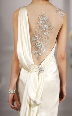Beautiful back - detail.