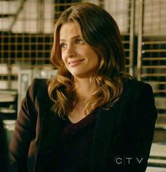 """Beckett watching Castle spill one of his """"theories""""..."""