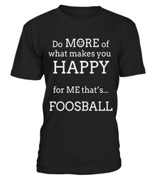 "# Happy Foosball T Shirts Gifts. Players Play Foosball More .  Special Offer, not available in shops      Comes in a variety of styles and colours      Buy yours now before it is too late!      Secured payment via Visa / Mastercard / Amex / PayPal      How to place an order            Choose the model from the drop-down menu      Click on ""Buy it now""      Choose the size and the quantity      Add your delivery address and bank details      And that's it!      Tags: Gifts for foosball…"