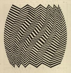 "nobrashfestivity:  "" Bridget Riley 1960′s  more  """