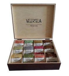 Wooden presenter for Veertea