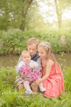 Surrey Family Spring Portraits.
