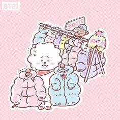 Super bts wallpaper rosa pastel 21 Ideas Super bts wallpaper rosa pastel 21 Ideas Super b Bts Chibi, Kpop, Bt 21, Les Bts, Dibujos Cute, Line Friends, Bts Drawings, Bts Fans, About Bts