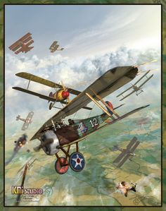 Ace of Aces. Edward Rickenbacker, the most successful American ace of WW1. He recorded 26 official victories against German aircraft during World War I and was awarded the Medal of Honor.