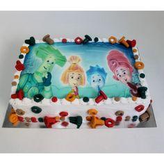 торт на день рождения-фиксики