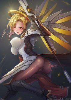 Mercy (Overwatch),Overwatch,Blizzard,Blizzard Entertainment,фэндомы,Overwatch Ero,rebe11