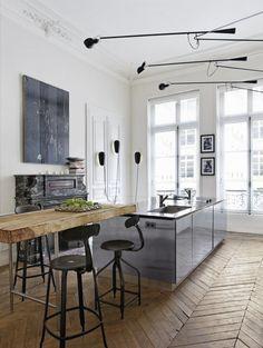 Altbauwohnung in Paris | Architektur und Wohnen