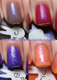 Indie Polish: Hare Illuminated Life Collection Swatches