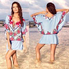 Cover up this summer with a Cosita Linda Acapulco Kaftan Kaftan, Cover Up, Fitness, Swimwear, Summer, Dresses, Fashion, Acapulco, Life