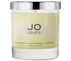 Little Splurges, Big Statements: Flower Power. British perfumer Jo Malone left her namesake company in 2006. Almost a decade later, she's back with a new line of scents called Jo Loves. Psst: The fancy candles are the best part. This one, $120, is layered, and features scents of frangipani, wild reseda and tuberose. Right now, the candles are only available online--shipped straight from the UK--which makes it extra special. #SelfMagazine
