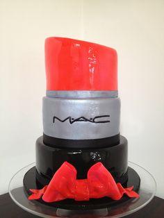 Wrap your lips around this MAC Lipstick cake