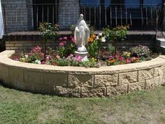 Under Her Starry Mantle: Spring Has Sprung!  And so has our Mary Garden