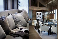 Chalet Interior, Luxury Interior Design, Winter Cabin, Conference Room, Mountain, Interiors, Table, Inspiration, Furniture