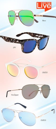 Flashy Shades Spotted on New York Live: http://eyecessorizeblog.com/2015/04/flashy-shades-spotted-new-york-live/