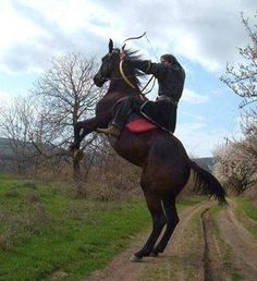 Hungary. Where the REAL cowboys came from. But nobody knows about them! :P