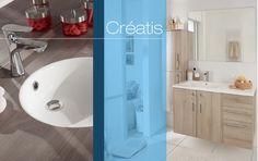 Am nagez votre salle de bain par zones for Lapeyre creatis