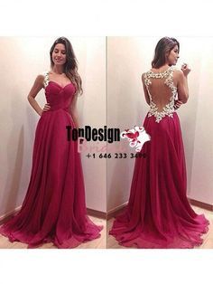 Wholesale Vestidos De Fiesta New 2017 A-Line/Princess Chiffon Ruched Sweep/Brush Train Long Prom Dress