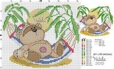 Fizzy Moon, Cross Stitch Baby, Teddy Bear, Babies, Animals, Baby Cross Stitch Patterns, Babys, Animales, Animaux