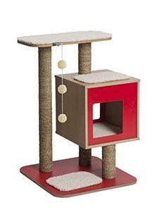 Vesper V-Base Red, Cat Furniture Tree  Price Β£99.99