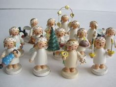 Wendt and Kühn Christmas Angels from Germany.  Available at www.mygrowingtraditions.com