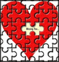 Missing You love miss you love quote friend puzzle greeting miss you quote miss you comment