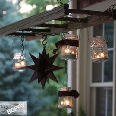 masonjar rustic chandelier from unskinnyboppy masonjarlights masonjarcrafts masonjardecor