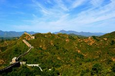 The Great Wall of China...  'Wild Wall' section from Jinshanling to Simatai West. #china #greatwall #travel  Photograph // Stephanie Osborn