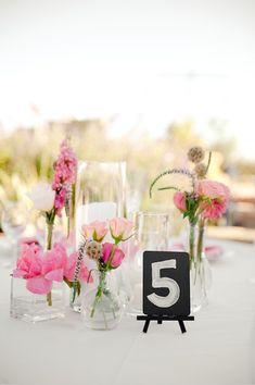 Black And Pink Malibu Wedding