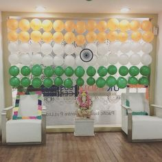 #office #decoration #for #Independence #day #indian #flag #tradition #cluture #uk #india #bussiness #center #tech #hub #banglore