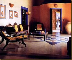 Traditional Indian home designs.