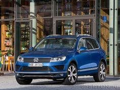 Внедорожник Фольксваген Туарег 2015 / Volkswagen Touareg 2015