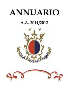 Copertina annuario anno agonistico 2011/2012