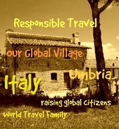 Unique Family Vacation Ideas: Italy We're trying something completely different, taking an organised trip to Umbria in #Italy with Our Whole Village. A trip packed with amazing food, great experiences, learning opportunities for the kids and cultural immersion. Find more on worldtravelfamily blog and on our Instagram account.