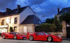 #Ferrari F50 + Ferrari F40